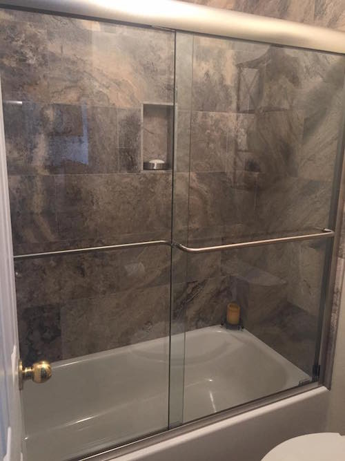 Get Rid Of The Shower Curtain A Door Like This One Recently Installed In Houston